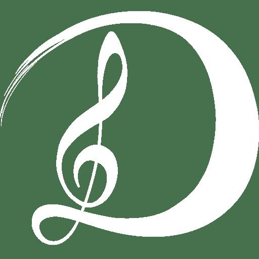 Devayani Piano Logo Blanc
